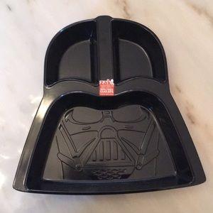 Vintage Star Wars Darth Vader Chip & Dip Plate New